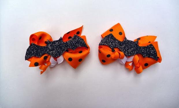 halloween bat bows - tando creative