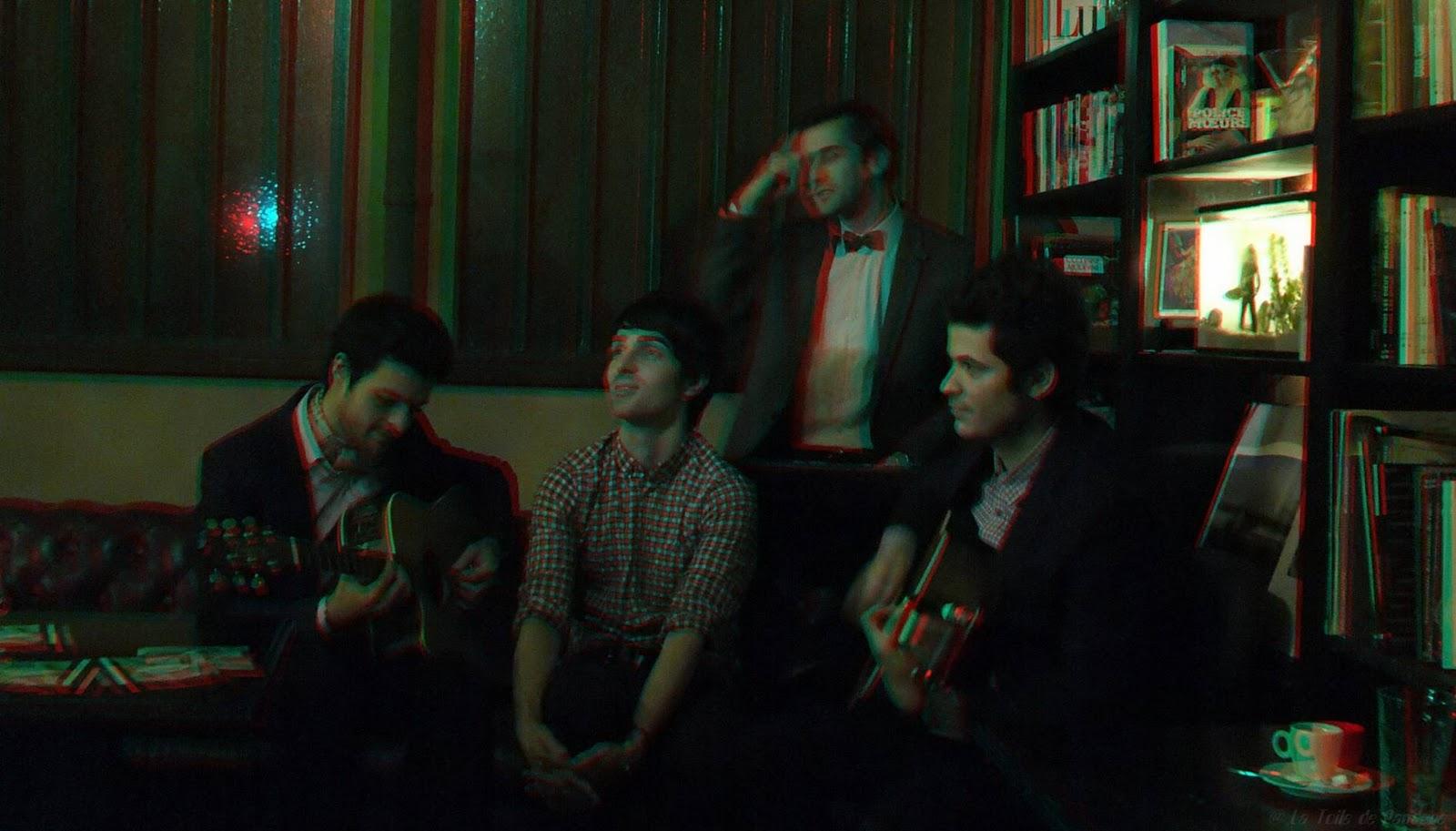 Nameless, quatre garçons sur la vague en 3D