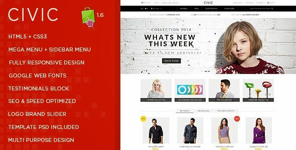 Multipurpose Prestashop Theme 2015