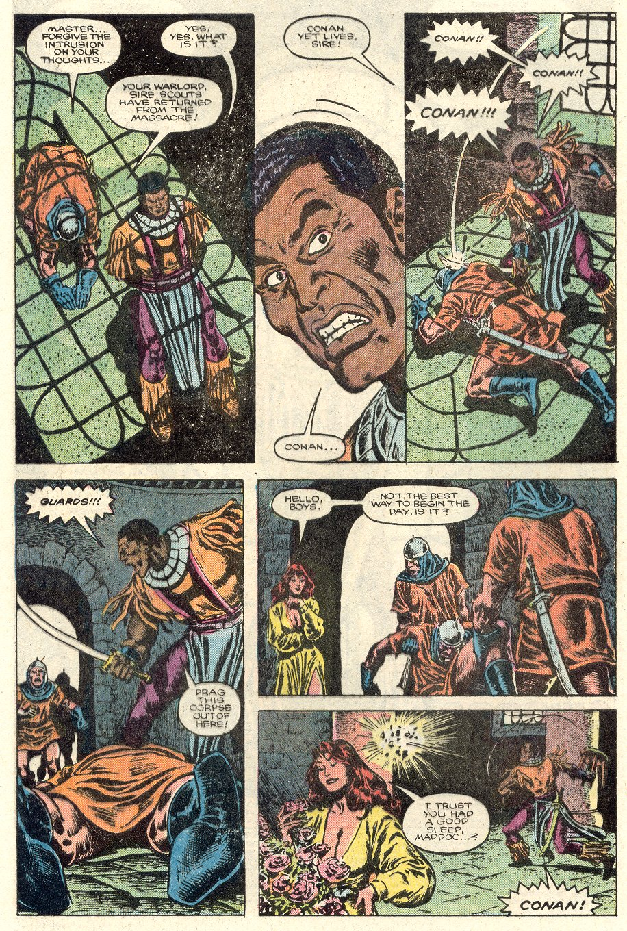Conan the Barbarian (1970) Issue #184 #196 - English 3
