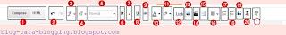 Mengenal Tools Teks Editor Blogspot, Tools Teks Editor Blogspot