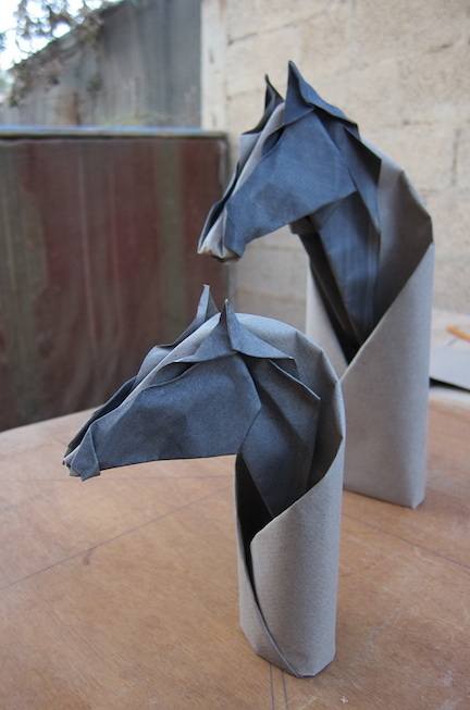 Origami Aesthetics And Natural History Horse Heads