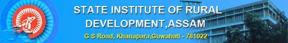 SIRD Assam Vacancy 2014