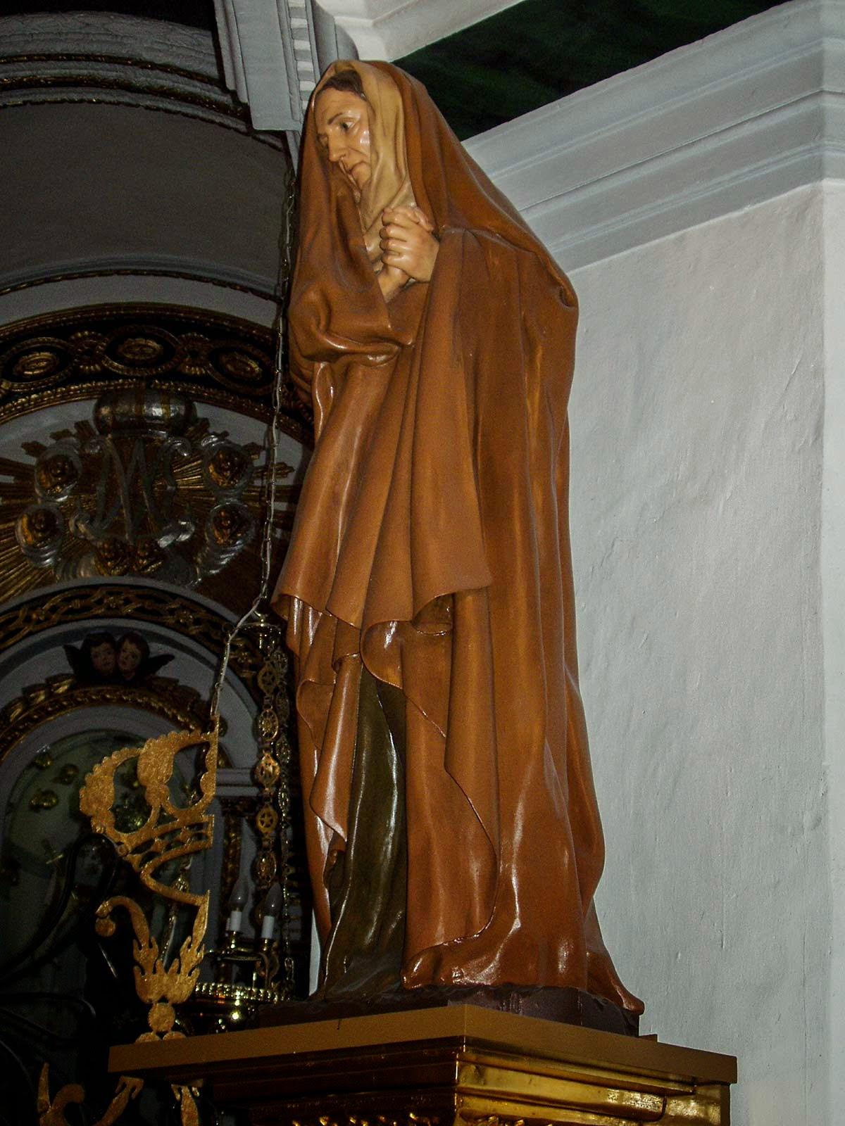 Santa Ana Penáguila Alicante Arturo Serra escultura 5