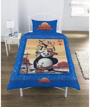 Kung Fu Panda Bedding Duvet Cover Set