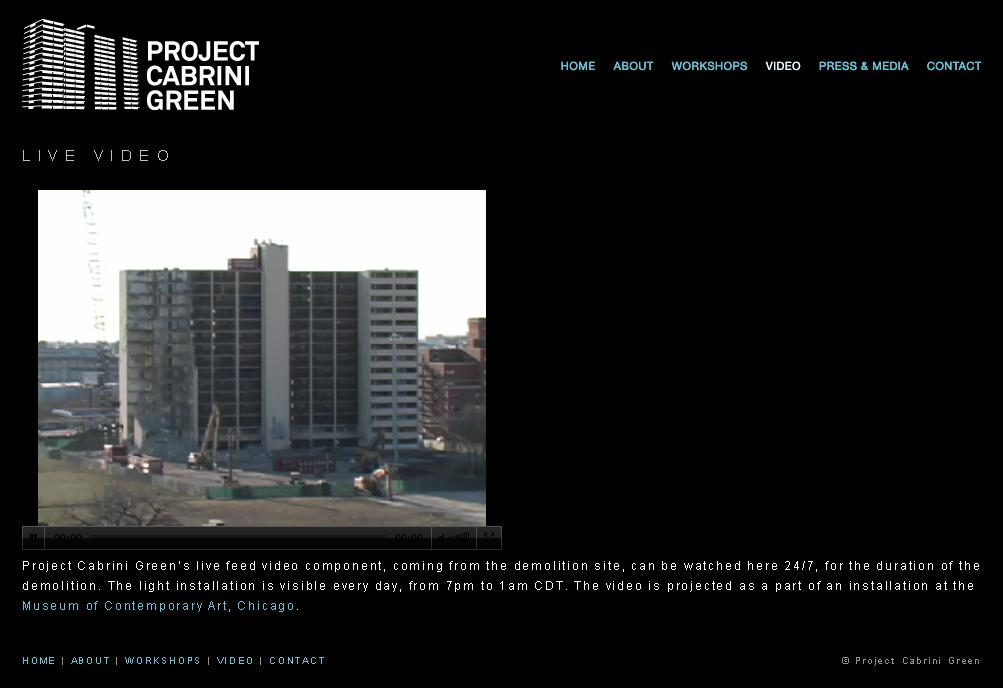 cabrini green pictures. As the Project Cabrini Green