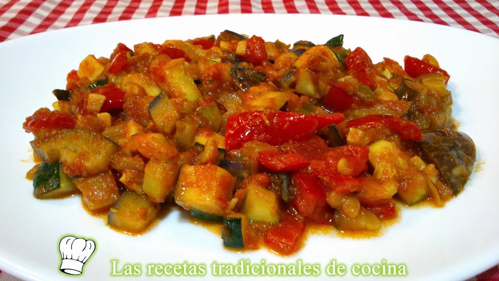 Recetas Tradicionales De Cocina   Receta De La Samfaina Recetas De Cocina Con Sabor Tradicional