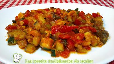 receta de la samfaina o sanfaina