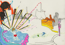 linda-emily al-ghussein. drawings