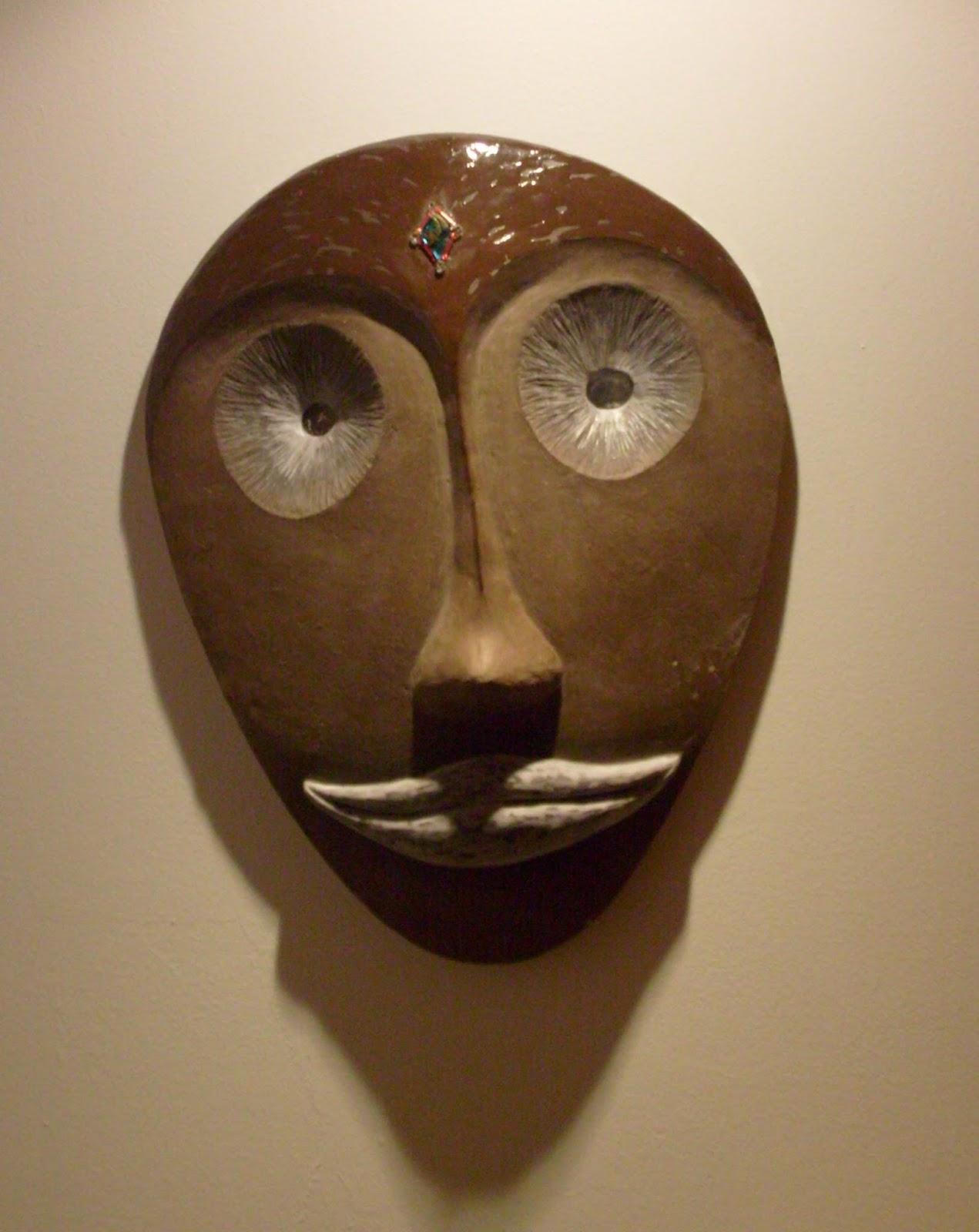 S verine peugniez cr ations masques en c ramique d for Vente decoration