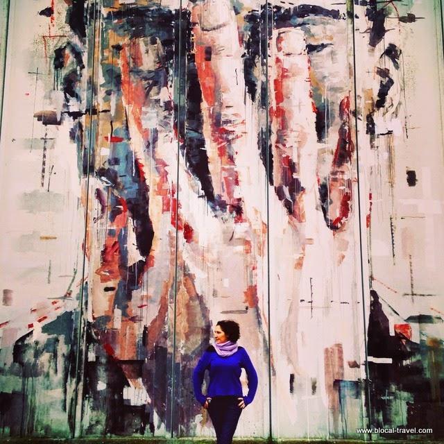 Borondo, street art, Arcidosso, Tuscany