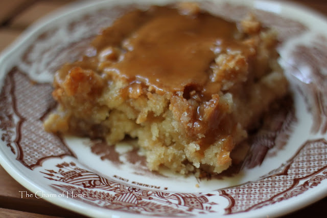 Apple Caramel Cake Recipe Paula Deen