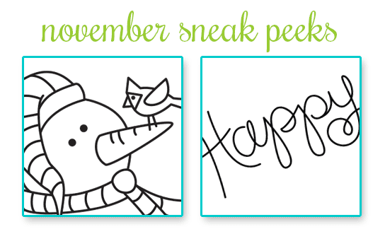 November Release Sneak Peeks | Newton's Nook Designs