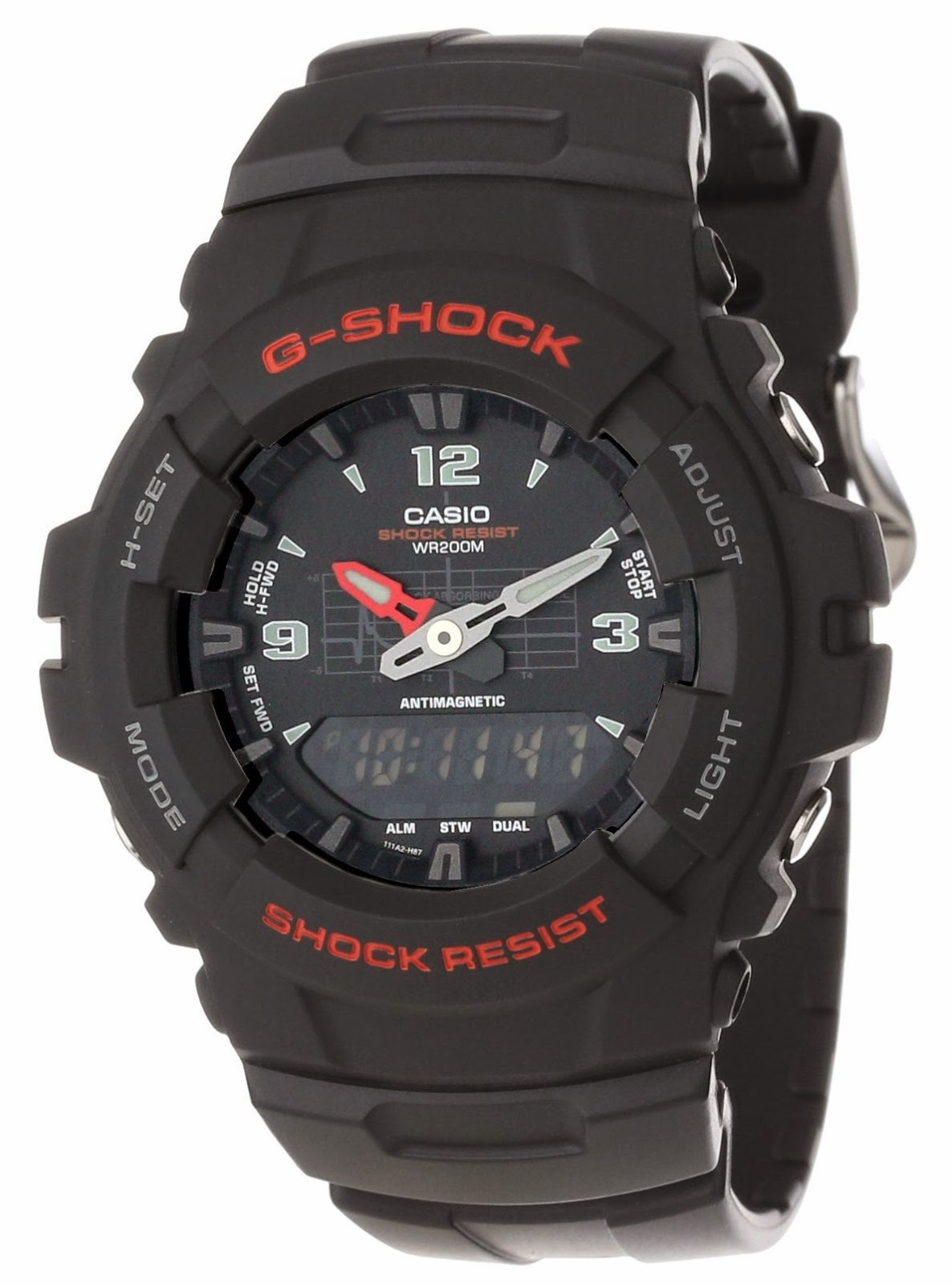 Casual Best Casio Watch Reviews G Shock Top Black Watches ...