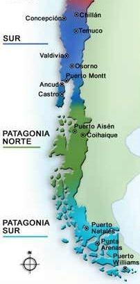 Naturaleza de chile breve descripci n zona sur y austral for Grabado de cristales zona sur