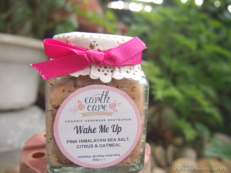Earth Care Wake Me Up Organic Handmade Bodyscrub