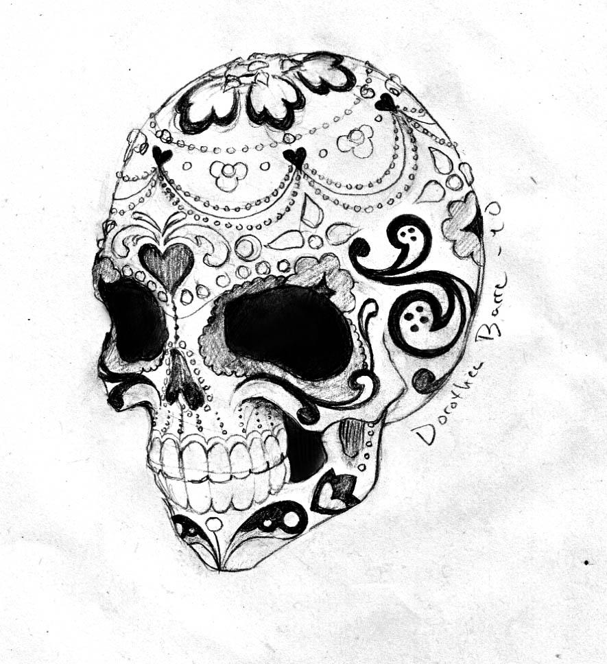 968 More Tattoo Ideas Sugar Skull Drawings Sugarskulls Designs