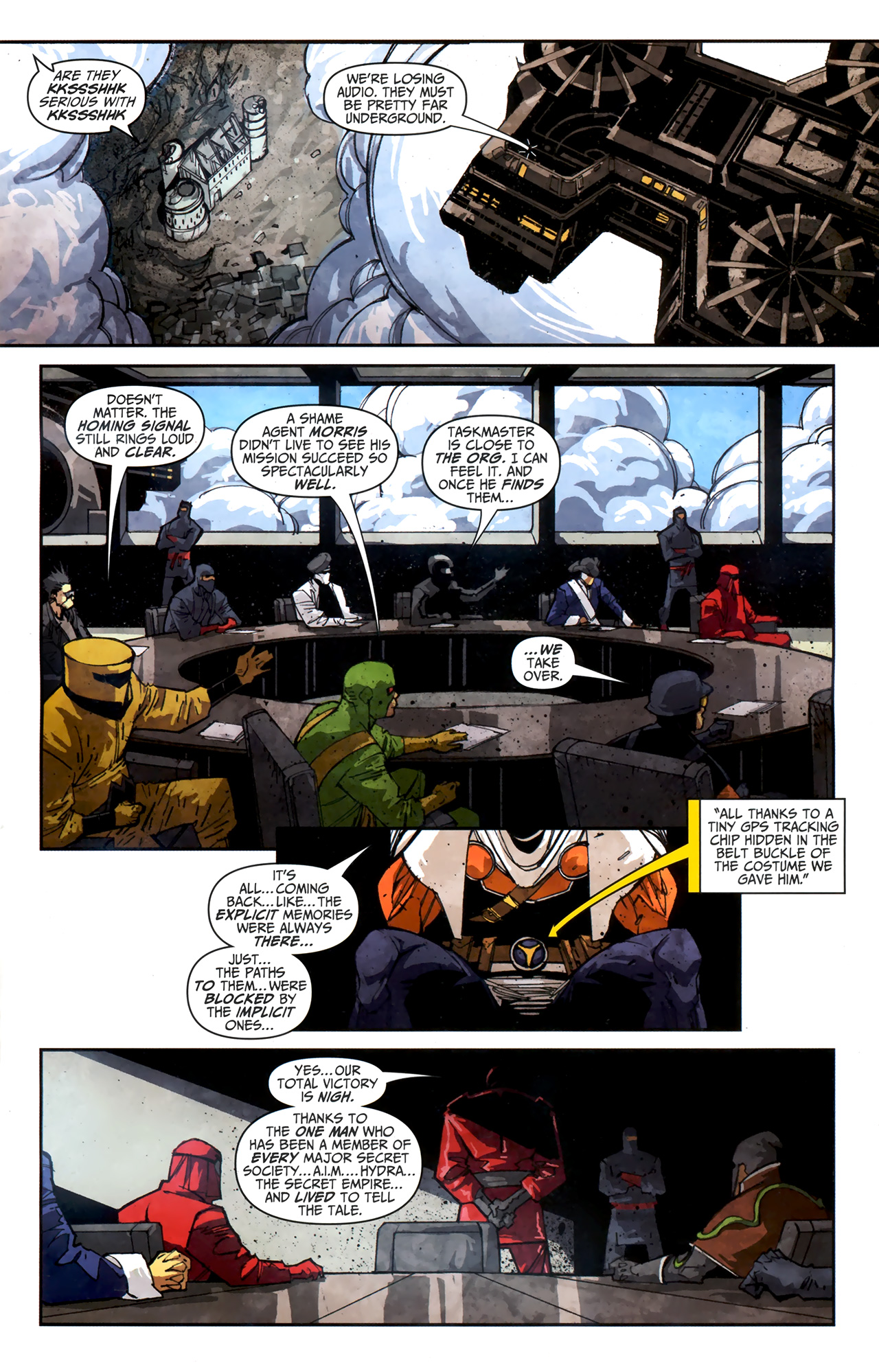 Read online Taskmaster (2010) comic -  Issue #3 - 14