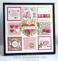 Stampin' Up! Valentine Sampler Home Decor 2016 Occasions Catalog -- created by Julie Davison www.juliedavison.com #stampinup