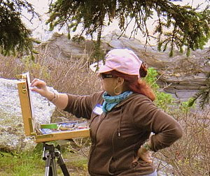 Nita Painting Plein Air