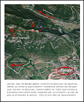 toporoc Escalada sector del santuari de Queralt Berga