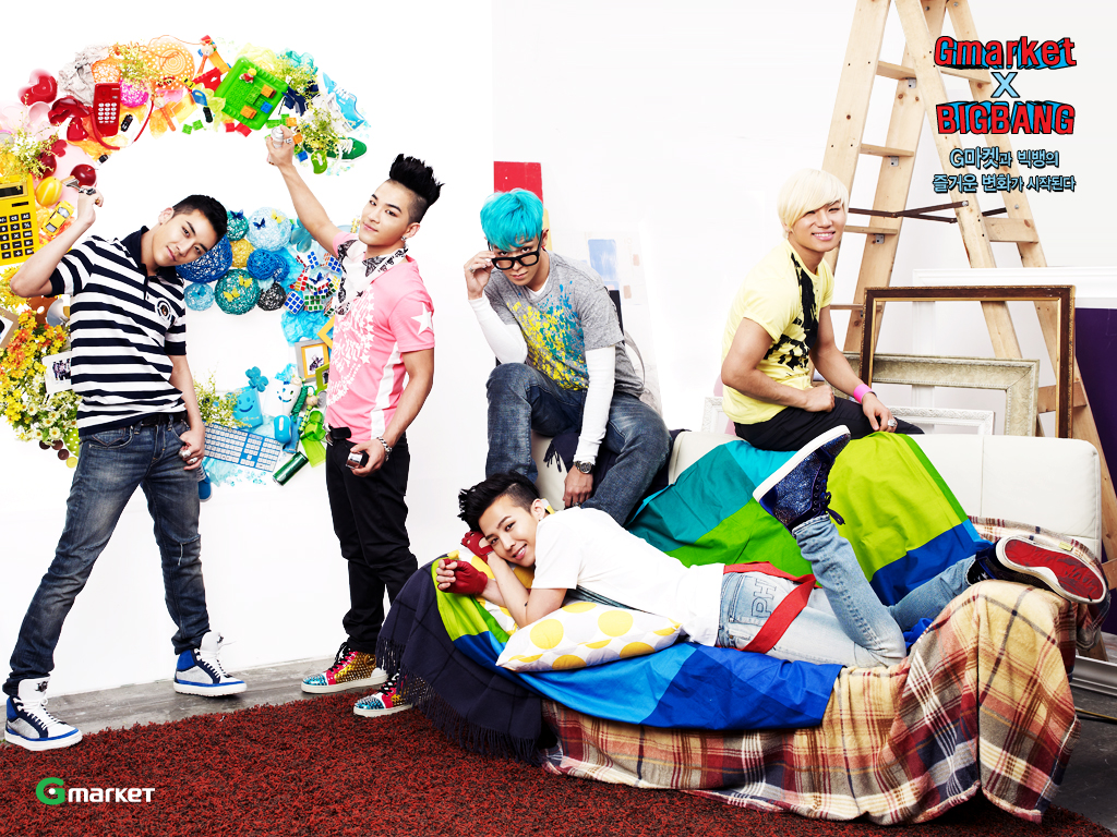 New Gmarket X Big Bang Wallpapers [PHOTOS/DOWNLOAD]  bigbangupdates