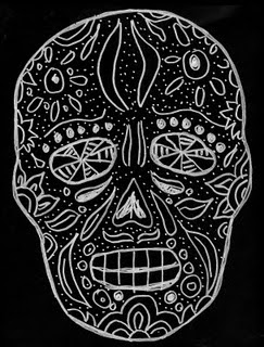 Day Of The Dead Skull Project