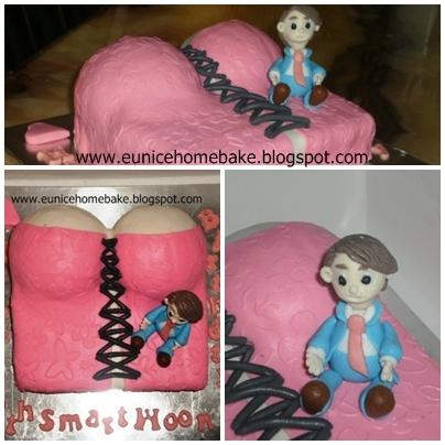 Eunice Home Bake Klang Corset Cake