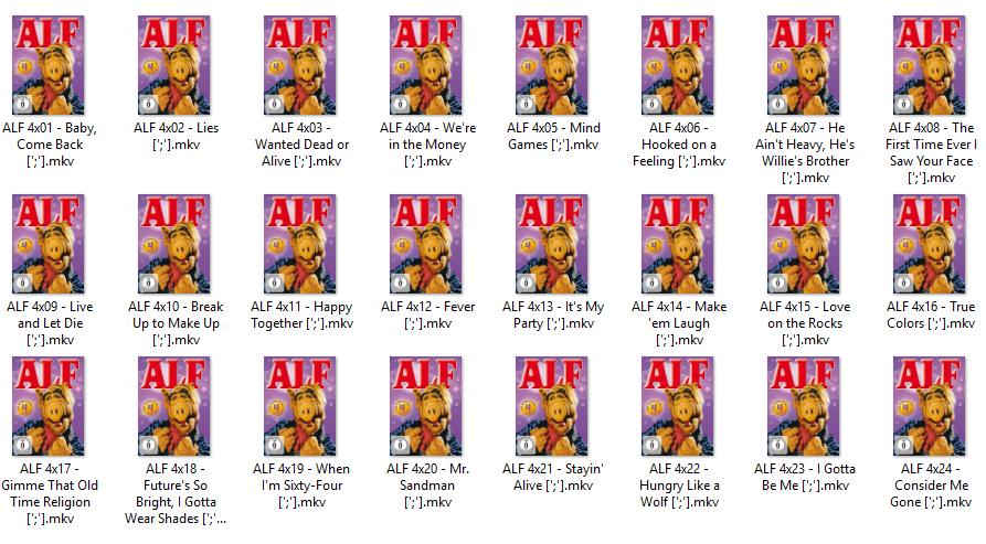 ALF | DVDRip | Season 04 | Dual Lat-Eng