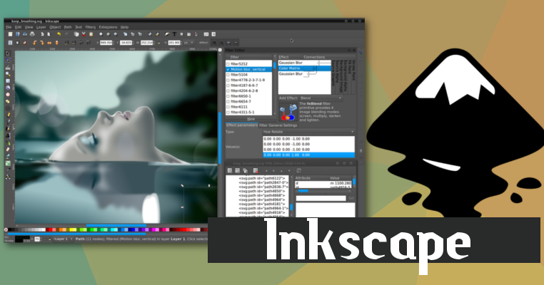 Alternativa Ao Corel Draw Para Linux Conhe A O Inkscape