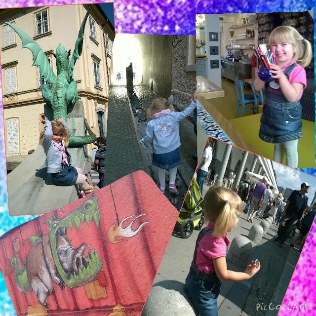 A caccia di draghi... viaggio a Lubiana!