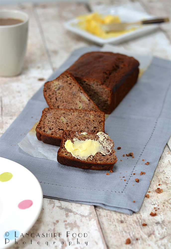 Banana and honey loaf cake - gluten free and no artificial sugars