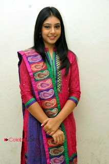 Niti Taylor Latest Pictures in Salwar Kameez at Love dot Com Audio Launch 0010