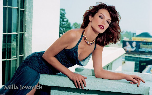 Super Star Milla Jovovich