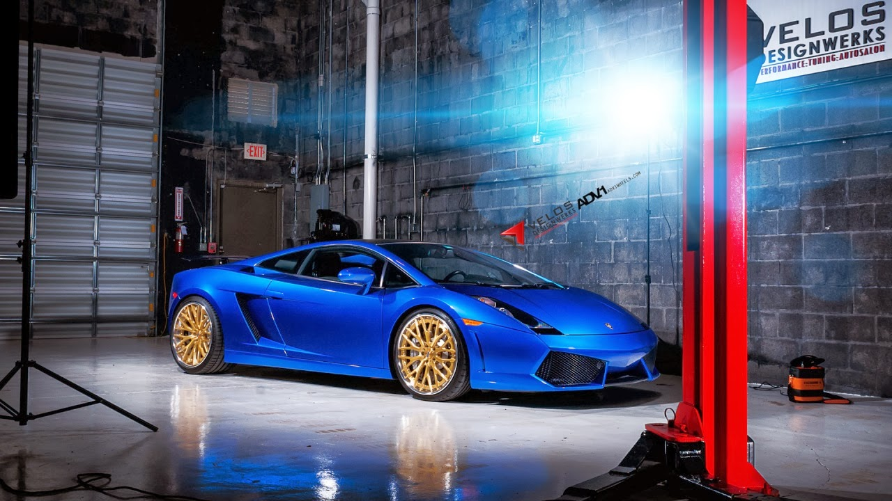 ADV1 Wheels Lamborghini Gallardo