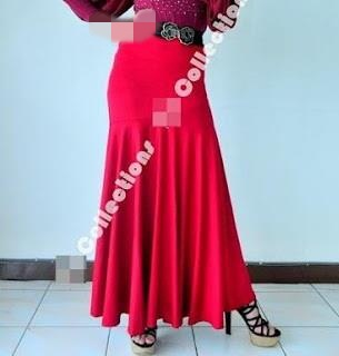 Skirt Labuh 680 Red