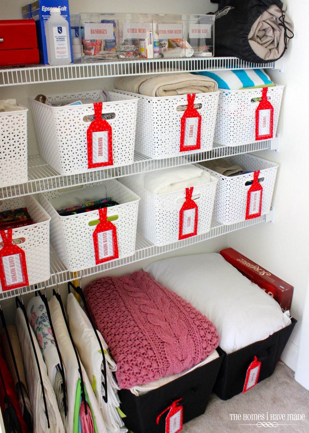 Ideas For Storing Extra Pillows