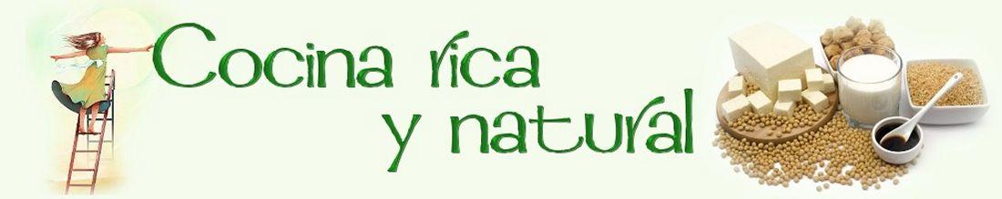Cocina Rica y Natural