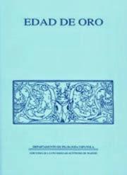 Edad de Oro. Revista de Filología Española. Literaturas Hispánicas UAM