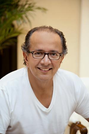 Retrato do arquiteto David Bastos.