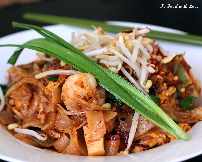 To Food With Love Pad Thai With Prawn And Pork