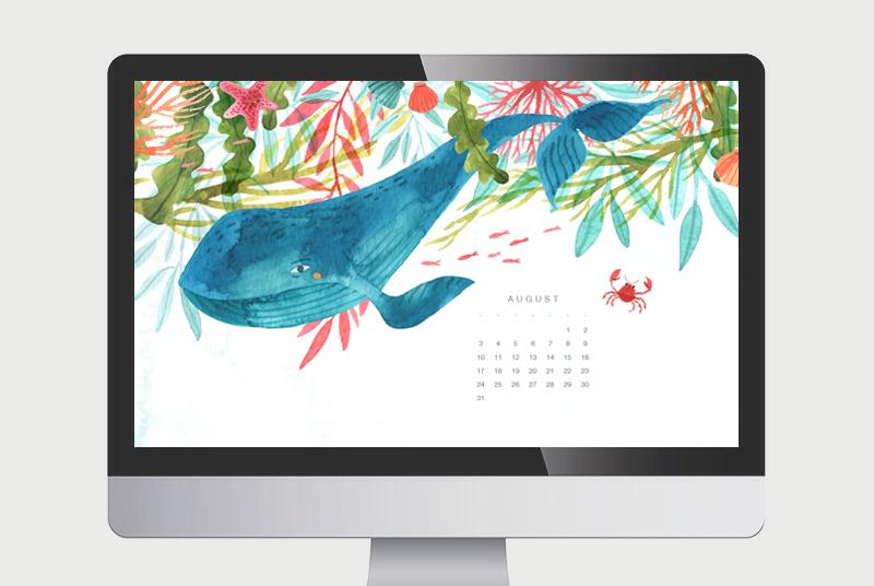 #Wallpaper Calendario de Agosto 2014