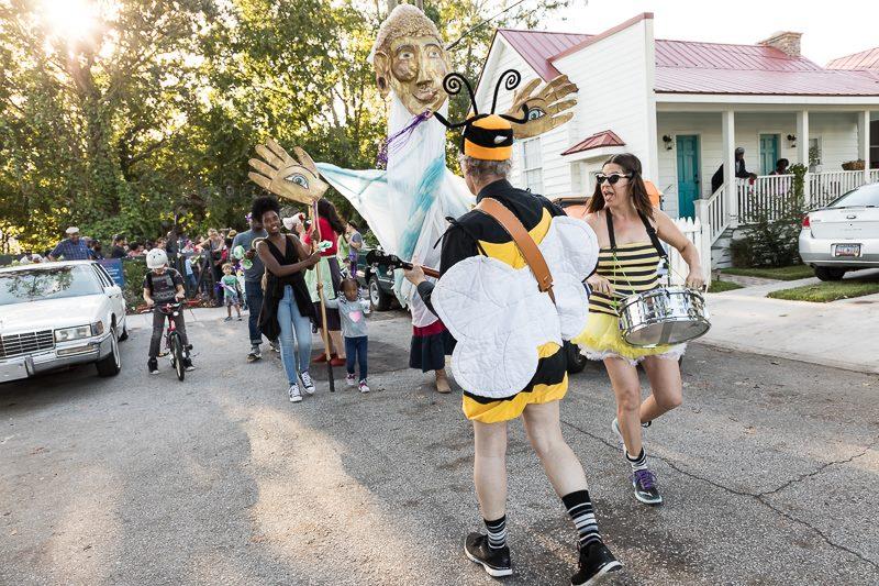 Pollinator parade
