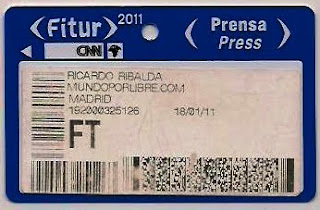 acreditación periodista Fitur, vuelta al mundo, round the world, La vuelta al mundo de Asun y Ricardo, mundoporlibre.com