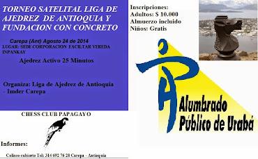 Carepa (Antioquia) TORNEO AJEDREZ ACTIVO (Dar clic a la imagen)