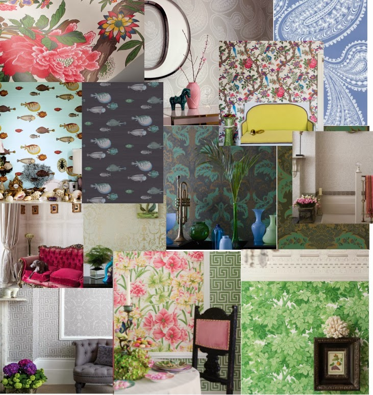 collage cole & son