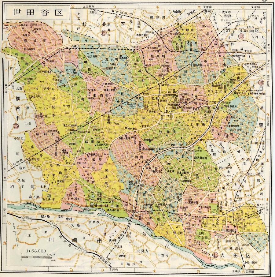 下北沢 賃貸 下北沢の賃貸不動産物件情報: 世田谷区の地図