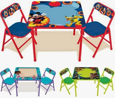 Daily Cheapskate: Activity table set with 2 padded chair, erasable ...