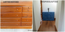 DIY Cómoda pasillo/Hall Dresser