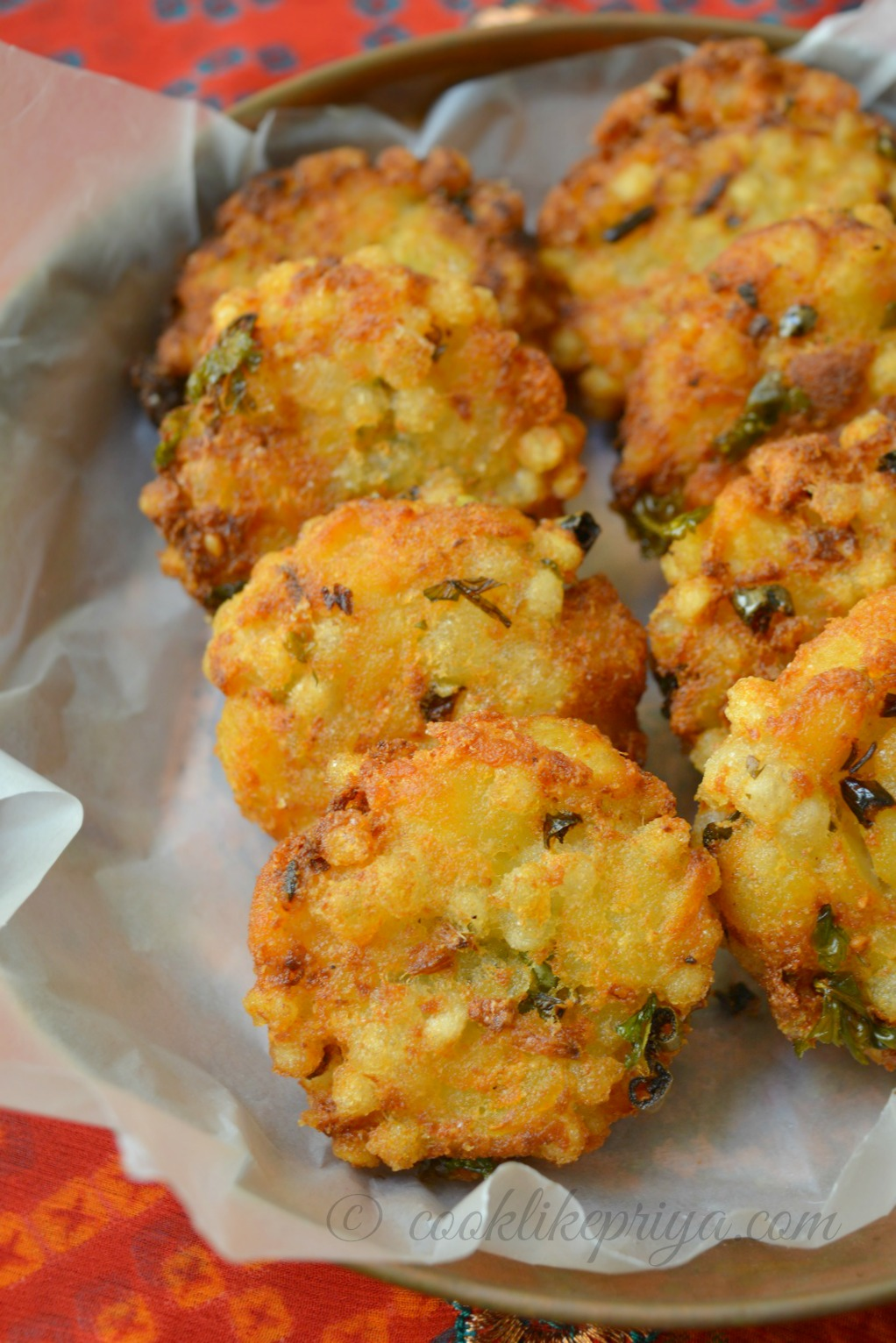 Easy Sago Vada Recipe